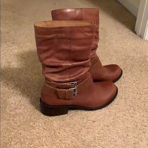 "Matisse ""Robbie"" Cognac Leather boots"